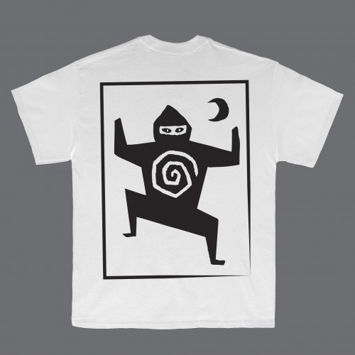 Woodcut White T-Shirt - Ninja Tune